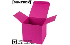 BUNTBOX FOLDING CUBE BOXES MAGENTA